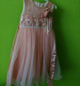 Нарядное платье принцессы