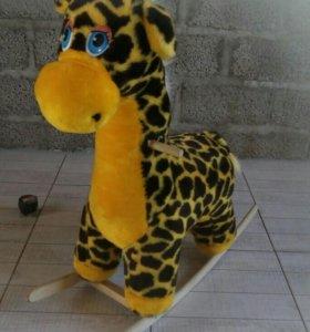 Жираф- качалка