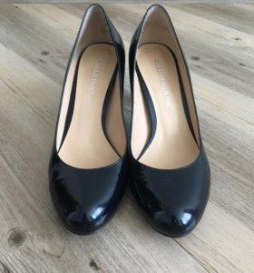 Чёрные туфли 36,5