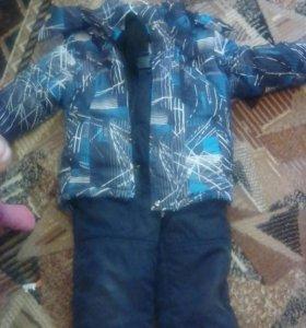 Зимний костюм на мальчикп