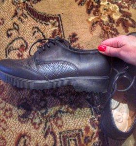 Ботинки женские лоферы
