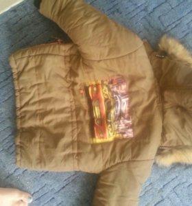 Куртка на 6-8 лет