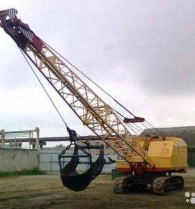 Сдам тросовой экскаватор эо-10011
