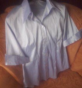 Блузка новая металлик