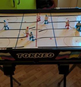 Настольный хоккей Torneo с подставкой для игры