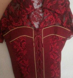 Блузка корсет