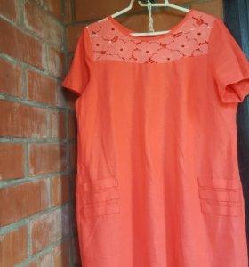 Новое платье размер 54-56
