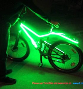 Светящийся велосипед Stinger python
