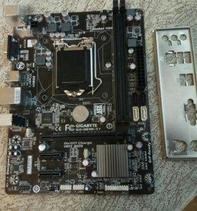 Gigabyte GA-H81M-S1, socket 1150,ddr-3