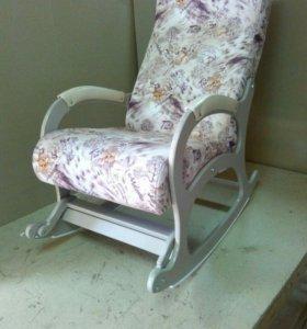 Кресло качалка Престиж, микровелюр Tiza 04