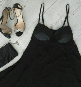 Платье коктейльное 44р
