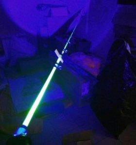 Фонарь с синим светом для ночной рыбалки