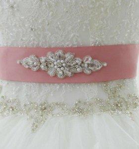 Пояс для свадебного платья - Свадебные аксессуары