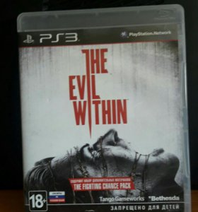 THE EVIL WITHIN диск сони 3
