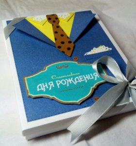 Шокобокс сладкий подарок