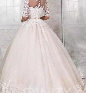 Свадебные платья. Кружево. Новое.