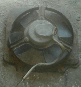 Вентилятор охлаждения ваз 99