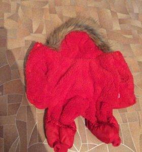 Продам комбинезон зимний, для маленьких собак