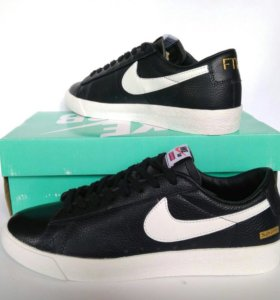 Nike кожанные кроссовки 👟