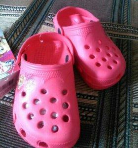Резиновая обувь для девочки