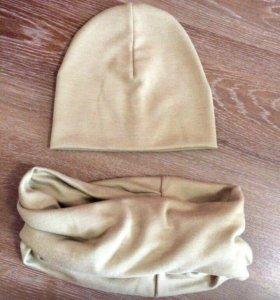Новые комплекты снуд и шапка
