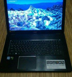 Мощный игровой ноутбук Aser aspireE17 E5-747g-70s9