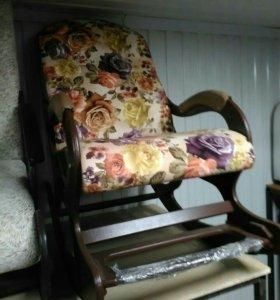 Кресло качалка Люкс с подножкой, Nocturne 7