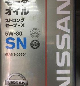 Моторная масла Ниссан