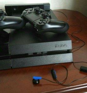 PlayStation 4 + DualShock 4 + PS4 Eye + Игры