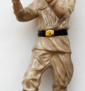 """Фарфоровая статуэтка: """" Квартет - Флейтист """""""