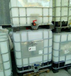 Куб 1000 литров чистая под пищевые продукт