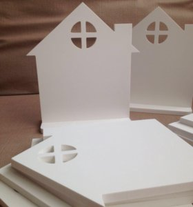 Интерьерный домик (украшение, ключница)