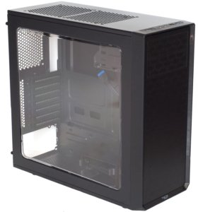 Корпус Fractal Design Focus G Black с подсветкой