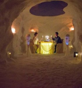Свидание в соляной пещере
