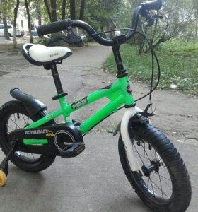 Детский велосипед Royal Baby , колеса r14.