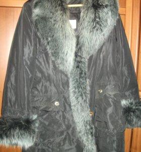 Куртка теплая на кролике