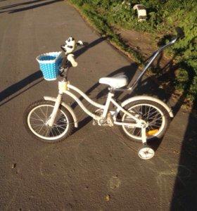 Детский велосипед 14дюйм