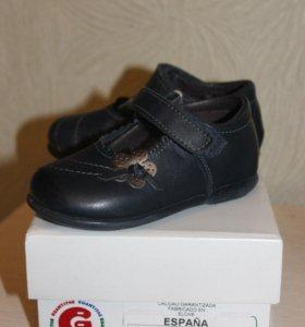 Туфли для девочки, р-р 22