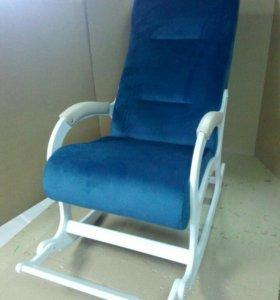 Кресло качалка Престиж, велюр maseratti 17