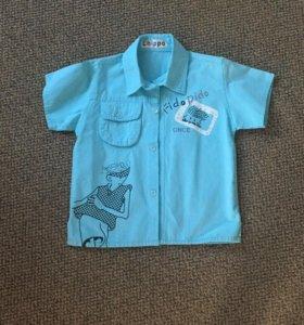 Рубашка мужская детская