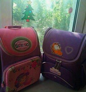 Ранцы для девочки начальных классов
