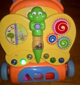 Ходунки-каталка детские музыкальные