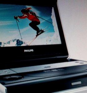 DVD Philips PET825 портативный