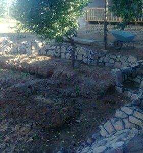 Работа на саду