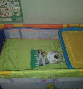 Кроватка- манеж