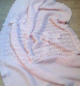 Розовый плед для ребёнка