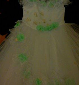 Праздничное платье для принцессы 2-7 лет
