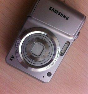 Samsung ES25, серебряный, zoom 4x, 4.9-19.6mm, 1:3