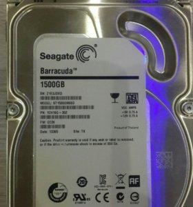 HDD 1500Гб Seagate Barracuda