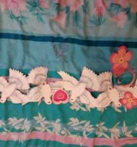Свадебные украшения, ленточки